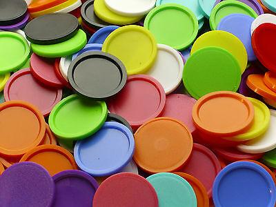 Einkaufswagenchip Wertmarke Pfandmarke mit Griffrand 10 Farben versch. Mengen