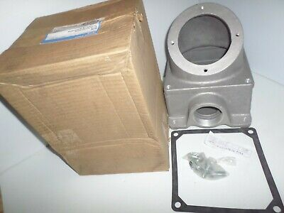 *NEW IN BOX* CROUSE HINDS AJ78 PIN&SLEEVE 200-Amp RECEPTACLE ANGLE BACK BOX 200A 2