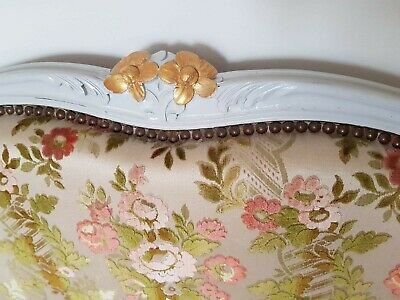 Antique French Corbielle Upholstered Double Bed 7