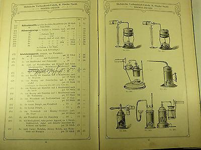 Buch Katalog Sächsische Verbandstoff Fabrik Dresden Radebeul Ploehn Von 1902 10