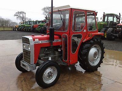 Massey Ferguson 230-235 200 Serie 240 /& 250 Traktor Werkstatt Handbücher