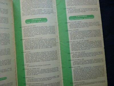 1950s Vintage Guide Brittany France Town Guides Railway Celebrations 4