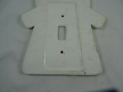 "Dansk Windmill Electric Switch Cover Single Toggle Ceramic 7"" Dansk for Kids 4"