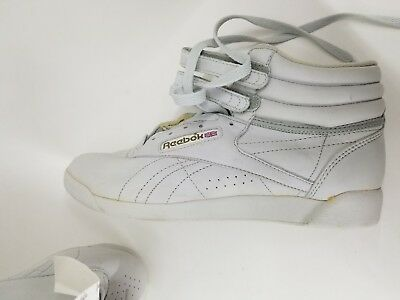 5c5d96ad17 RARE VINTAGE 80S Original Reebok Classic High Top Freestyle Women's 9 New  RARE