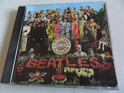 The BEATLES - Sgt. Pepper's Lonely Hearts Club Band (CD) WEST GERMANY Pressing 2