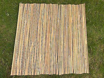 Bamboo Slat Fencing Screening Rolls 4M Garden Outdoor Privacy - Best Artificial 4