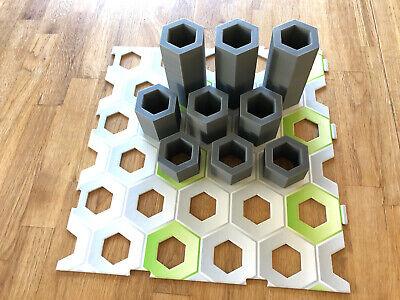 statt GraviTrax Höhensteine9 Säulen in den Höhen 30,50,100 mm neue Version