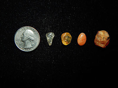 Pre-Columbian Collection of Amber and Stone, Very Rare, Costa Rica 6