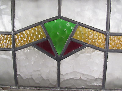Large Vintage Stained Glass Window (2940)NJ 4