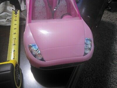 Mattel Barbie Pink Glam Convertible Doll Vehicle 2010.EUC 2