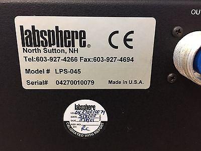 Labsphere LPS-045 Halogen Light Source Controller