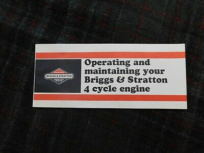 Operating And Maintaining Your Briggs & Stratton 4 Cycle Engine Manual 9