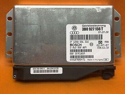 2003 Volkswagen Passat 4.0 Transmission Control Module TCU TCM 3B0927156T