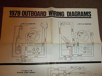 1978 johnson outboard motor wiring diagram 4 6 99 15 hp