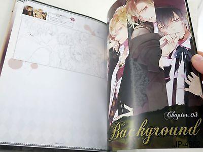 Diabolik Lovers Materials Collection Japanese Artbook Japan Art Book US Seller