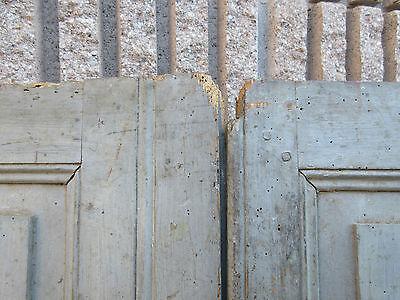 """pAIR ~ LATE 19th century antique furniture CABINET DOORS 74.5"""" x 21"""" & 18.25"""" 11"""
