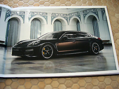 Porsche Panamera Exclusive Prestige S Brochure 1 Of 100 Ltd Usa Edition 2017 3