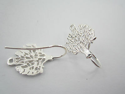 1 paio monachelle per orecchini albero della vita argento 925 2