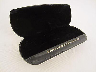 Brillenetui Schwarz Muster Vintage Etui Box Brille Sonnenbrille Alt Antik Köln