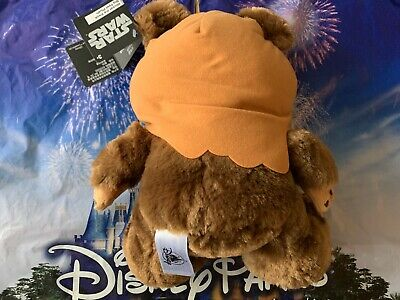 "2020 Disney Parks Star Wars Wicket Ewok Big Feet 10"" Plush NWT 3"
