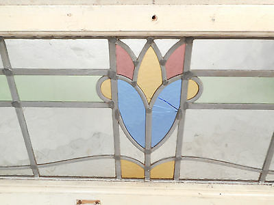 Vintage Stained Glass Window Panel (3255)NJ
