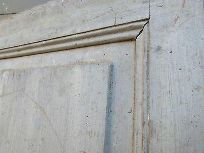 """pAIR ~ LATE 19th century antique furniture CABINET DOORS 74.5"""" x 21"""" & 18.25"""" 12"""