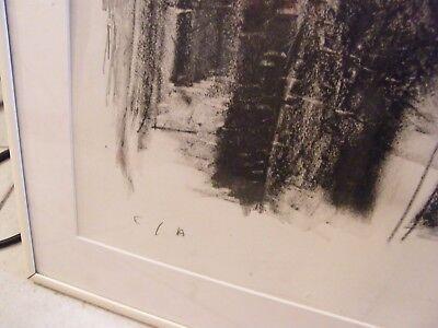 Lithografie von Martinez Probedruck Mädchen Ausgezogen Paris 5