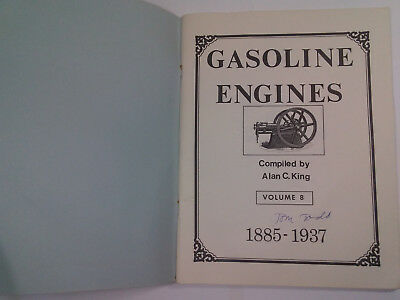 Rare! Gasoline Engines, Volume 8, By Alan C. King, 1983, 64 Pages 2