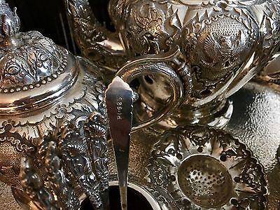"""S/Silver""""925""""Seven Piece Tea & Coffee Service + 1kiloBar.9999PureSilverPerthMint 6"""