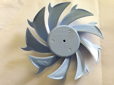 LG FRIDGE EVAPORATOR FAN BLADE 125mm  ANTI CLOCK WISE DIRECTION 5901JA1016B 2