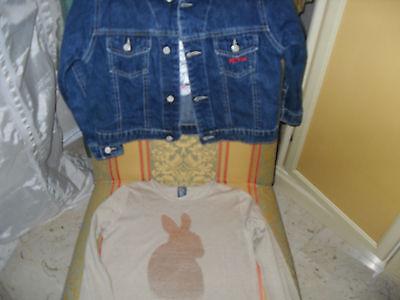 Giubbino jeans Disney e T.Shirt ZARA bimba anni 5/6. 3