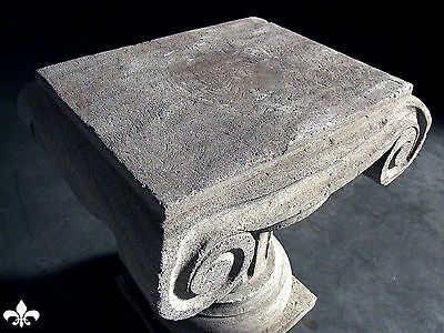 Italian Column Statue Pillar Table Stone Carved Stand 10