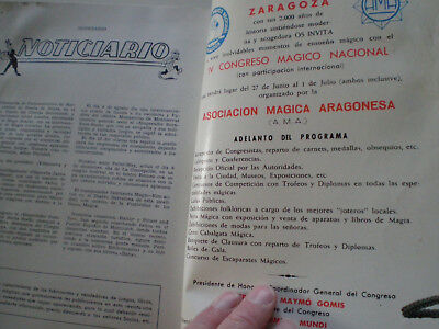 C.E.D.A.M. Almanaque 1962 Revista De Magia Ilusionismo MAGIC ILLUSIONISM MAG