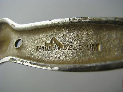 """A CONTINENTAL BRASS DOOR KNOCKER DOORKNOCKER """"Devil"""" Anvers Belgium ca1950s Rare 12"""
