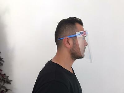 Safety Full Face Shield Clear Flip-Up Visor Transparent Medical Dental Mask 5