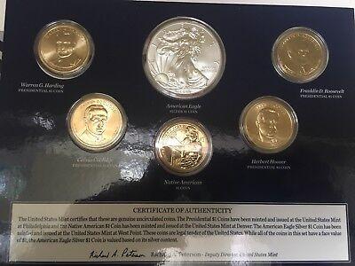 2014 US Mint Annual Uncirculated Dollar Coin Set  (XA6) 3