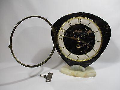 Antique Pendulum Clock Mecanique Bayard Vintage Clock Pendulum Orologio 11