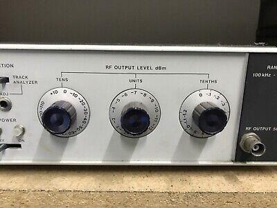HP 8443 Tracking Generator . Counter Hewlett Packard ID-AWW-AWW-9-3-2 4