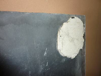 "antique ORIGINAL circa 1920's schoolhouse SLATE chalkboard 59.75 x 36"" UTICA, NY 6"