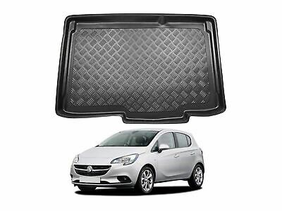 Estate Nomad Auto Tailored Fit Durable Black Boot Liner Tray Mat Protector for Mercedes E Class 2016 on