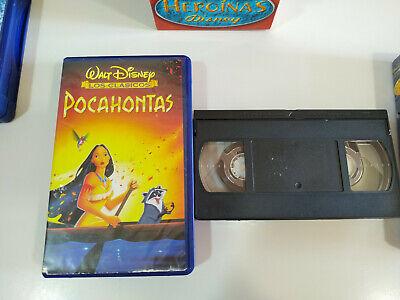 La Bella y la Bestia - Pocahontas - Mulan - Walt Disney - 3 x VHS Cinta Español 7