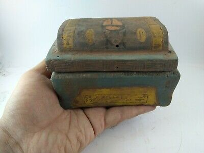 Rare Ancient Egyptian Antique Jewelry  Box 1114-800 Bc 3