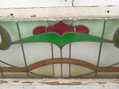 Vintage Stained Glass Window Panel (3222)NJ 7
