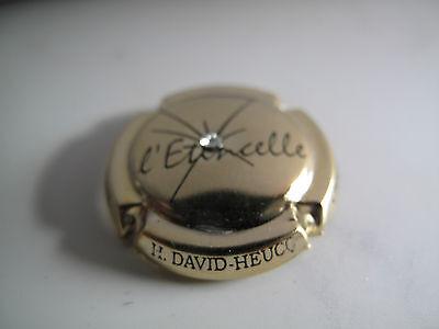 Capsule de champagne DAVID-HEUCQ Henri caps/'folies C. 48. bleuet et coquelicot