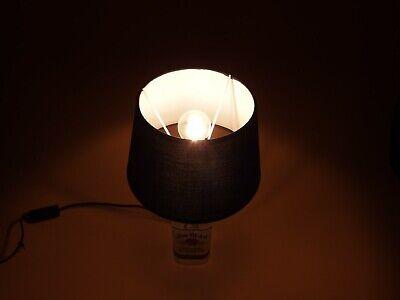 Jim Beam - Flaschen Lampe Tischlampe LED 220V mit Schalter SEHR ORIGINELL S1 5