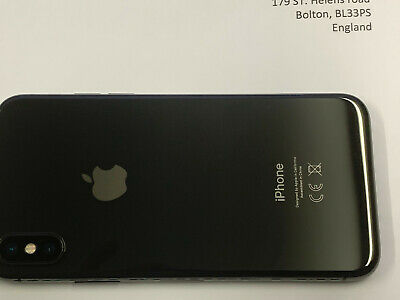Apple iPhone X (IPhone 10) 64GB Grey Silver -All Grades - Unlocked- 12M Warranty 3