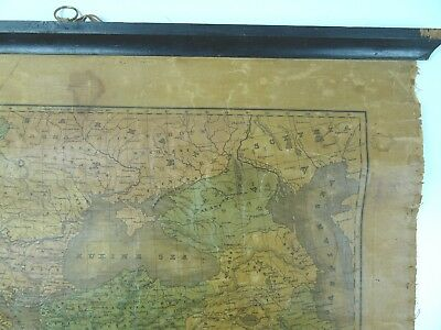 An Ancient Or Bible Map E Huntington Hartford Connecticut  MEDITERRANEAN 1831 4