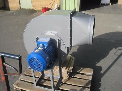 Large Industrial Centrifugal Blower Fan 4KW 2900rpm 10500m3/hr high pressure 5