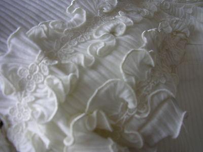 Completino bianco cotone tg 10 anni eccellente vintage inusato *copricostume 7