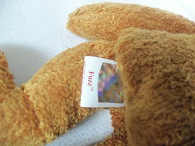 TY Beanie Babies *' Teddy bear  ** FUZZ ** 5th Generation New w/ Tag